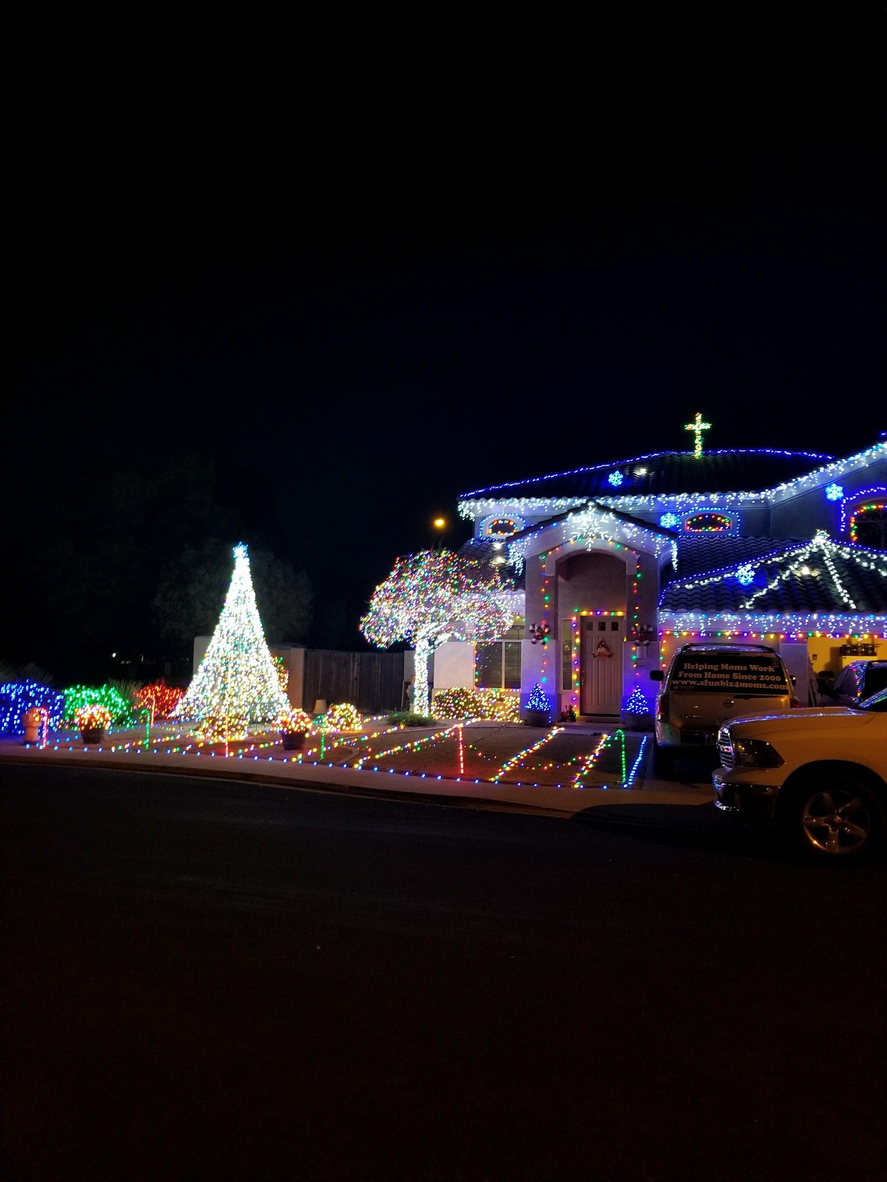 Nevarez Christmas Lights!